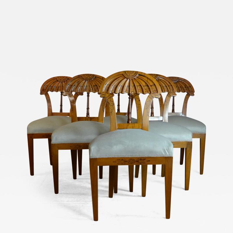 Biedermeier Style Dining Chairs
