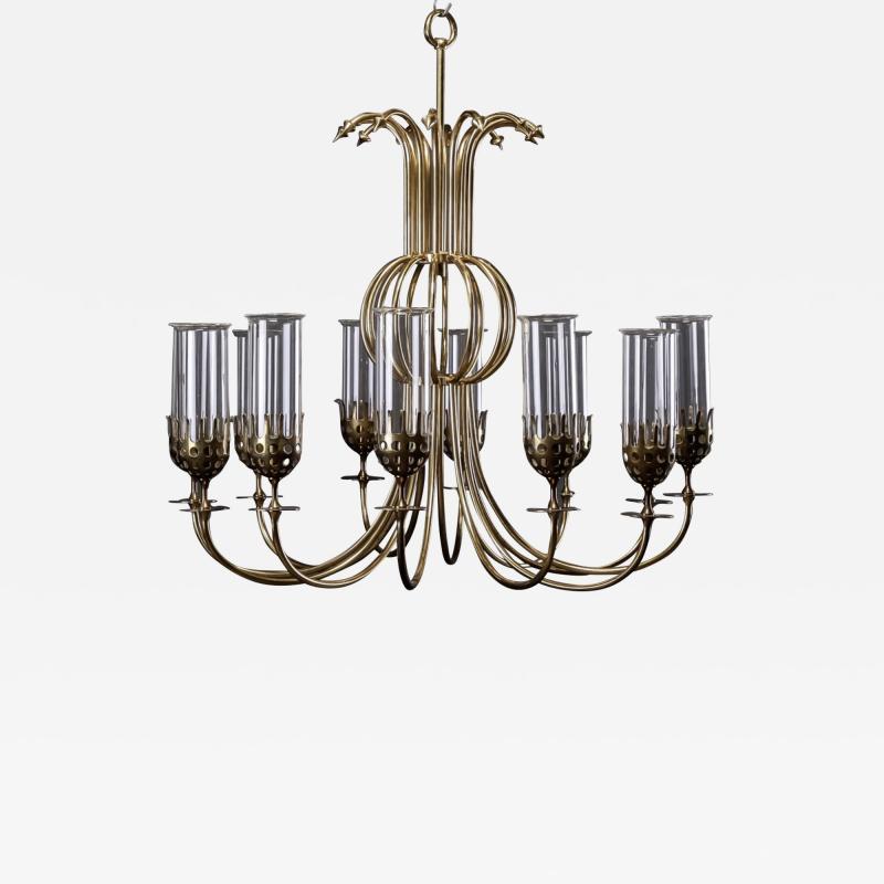 Bjorn Wiinblad Bj rn Wiinblad Large chandelier by Bj rn Wiinblad