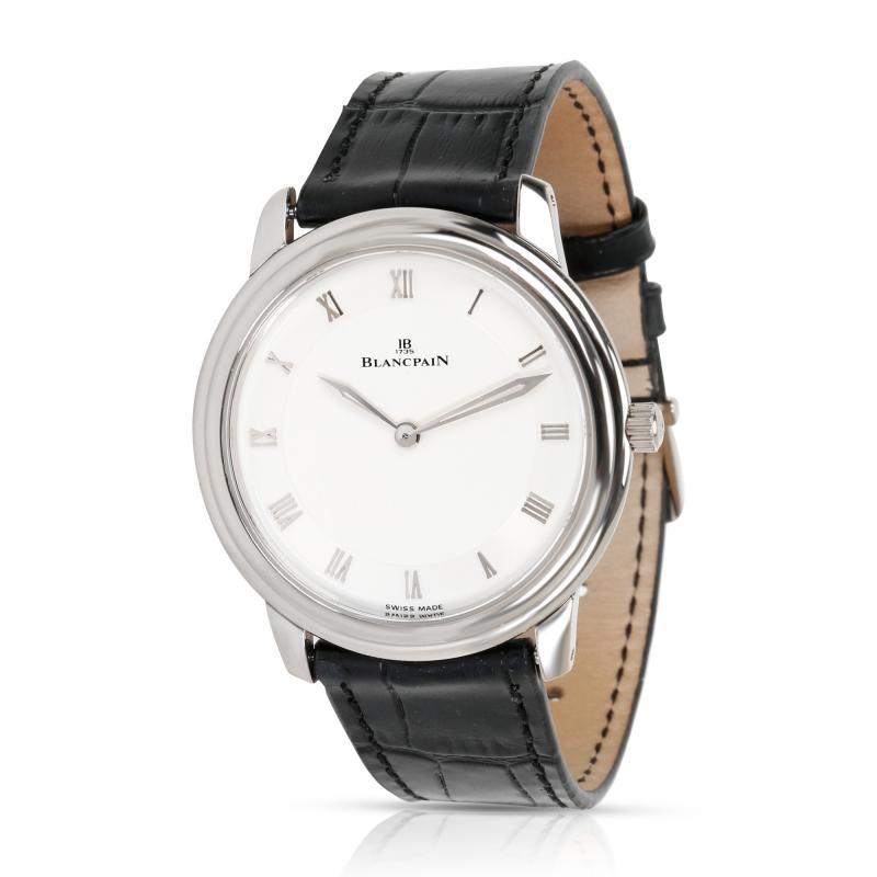 Blancpain Villeret Ultra Slim 0028 1527 55 Men s Watch in 18kt White Gold