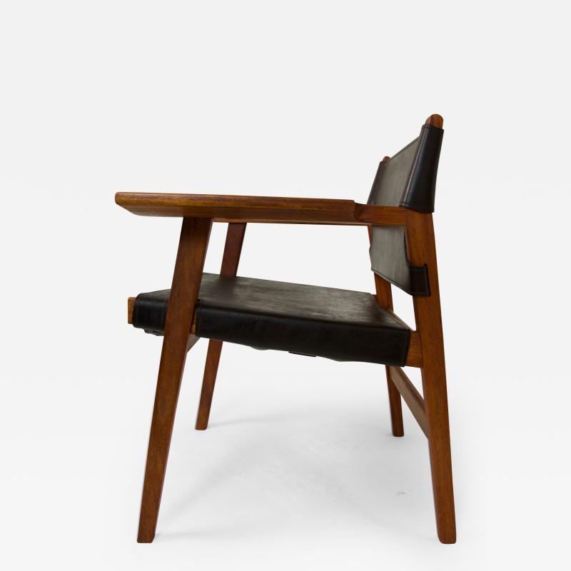 Borge Mogensen Spanish Chair Borge Mogensen Style circa 1960