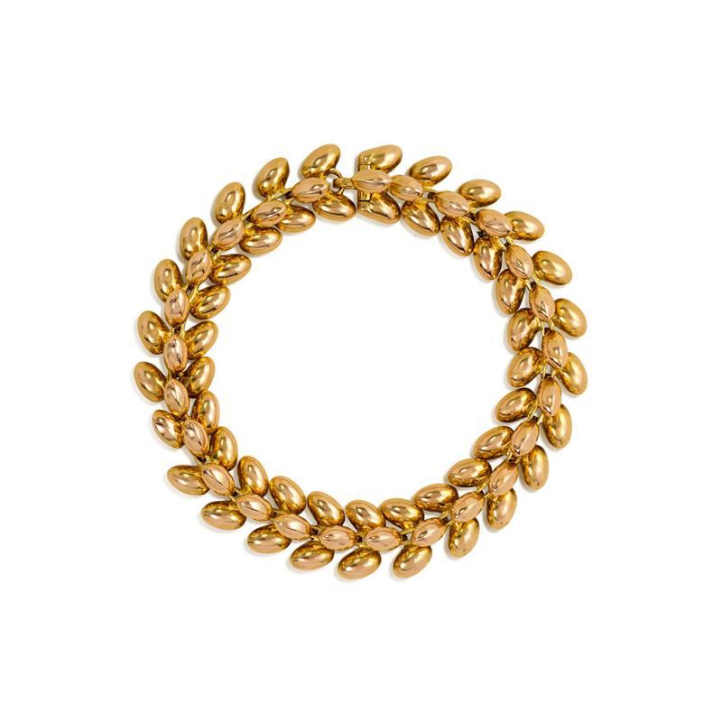 Boucheron 1950s Rose Gold Bracelet