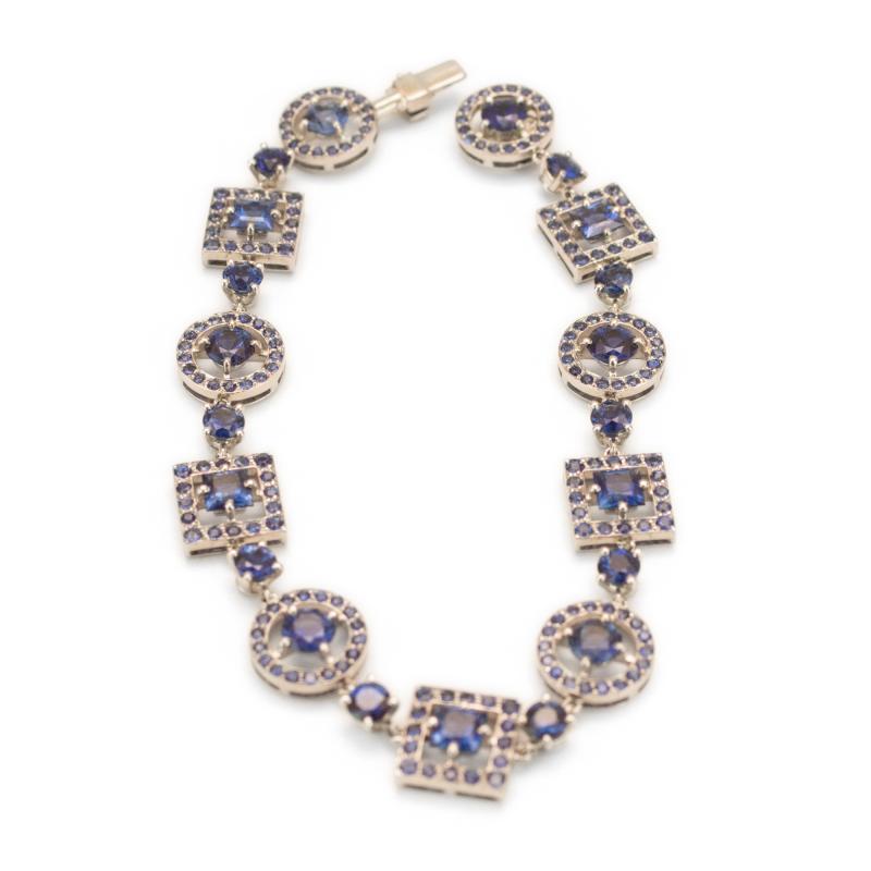 Boucheron Paris sapphire bracelet