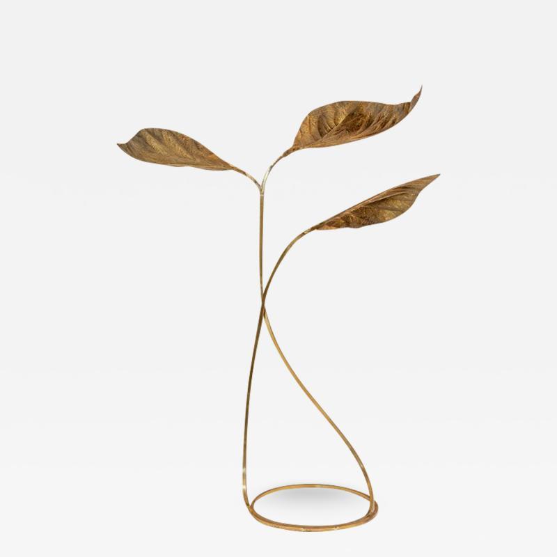 Brass Floor Lamp by Tommaso Barbi