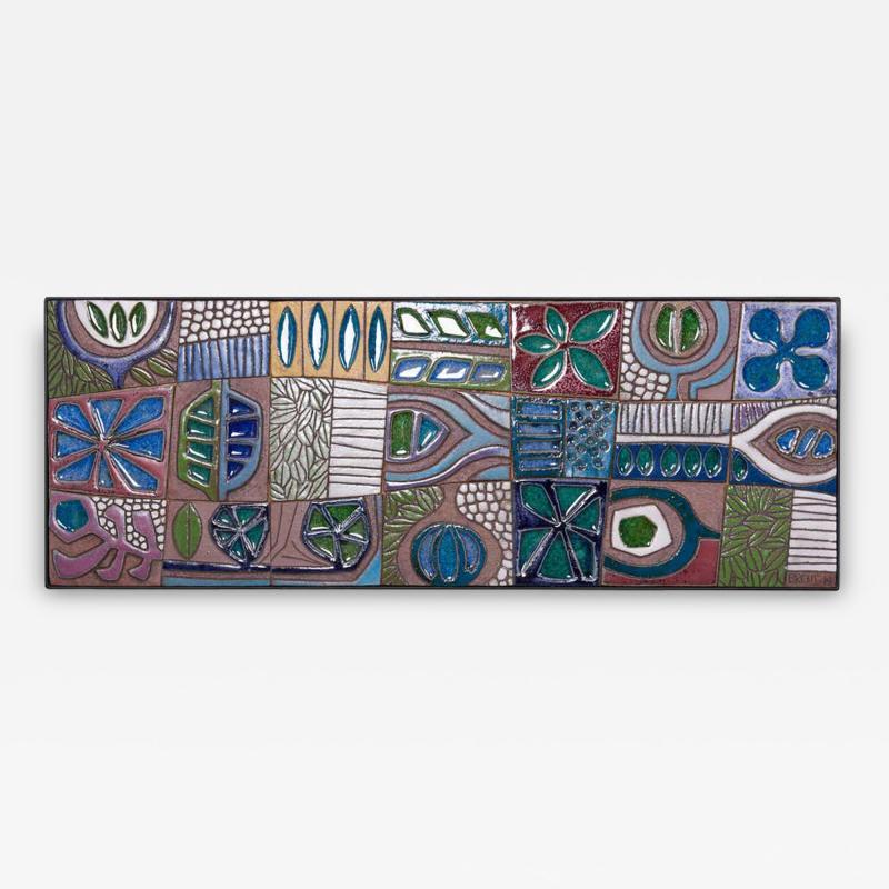 Brent Bennett Abstract Mural with Frame by Brent J Bennett US 2019