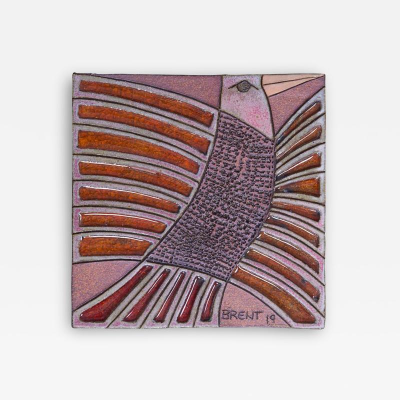 Brent Bennett Red Tailed Hawk Plaque by Brent J Bennett US 2019