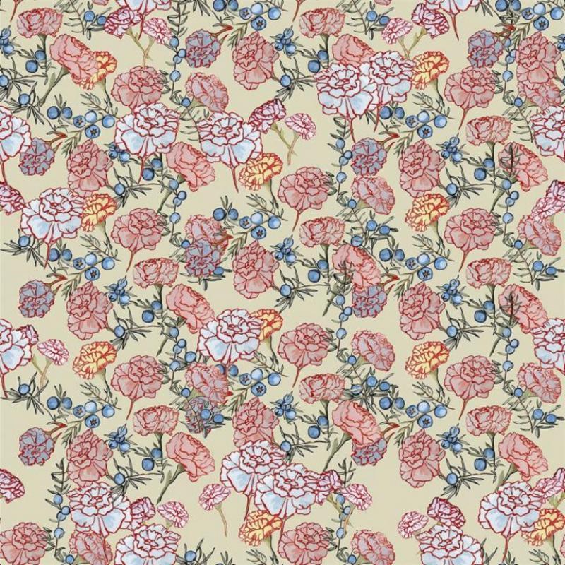 Brett Design Juniper Berries Carnations