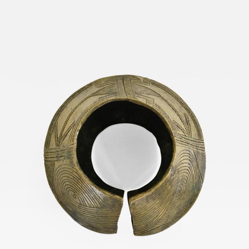 Bronze Bracelet Yoruba Tribe Nigeria 1st Half 20th Century