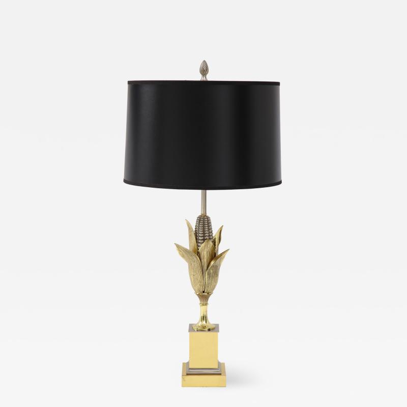 Bronze Corn Lamp