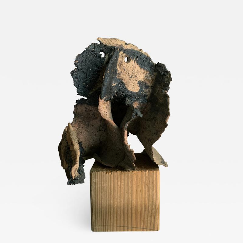 Bruno Gambone Bruno Gambone Grotesque Sculpture In Painted Ceramic Italy 2003