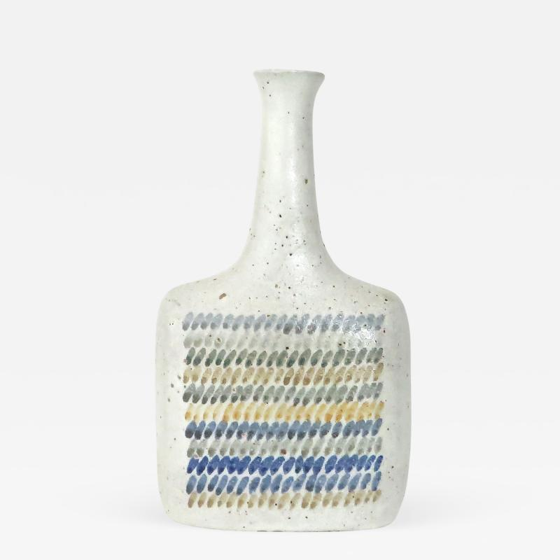 Bruno Gambone Bruno Gambone Polychrome Italian Ceramic Vase or Bottle