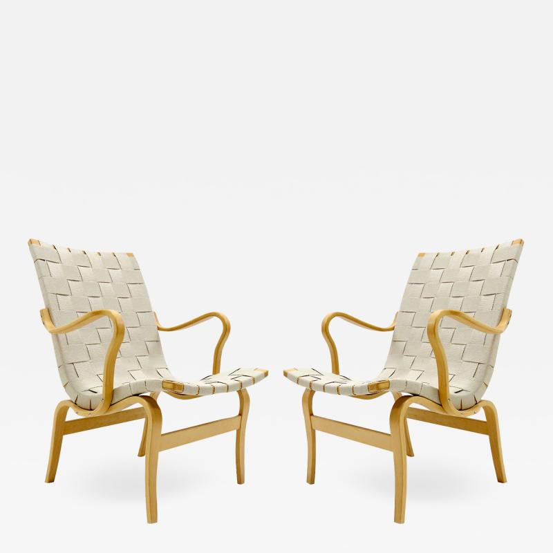Bruno Mathsson Armchairs Eva by Bruno Mathsson for DUX