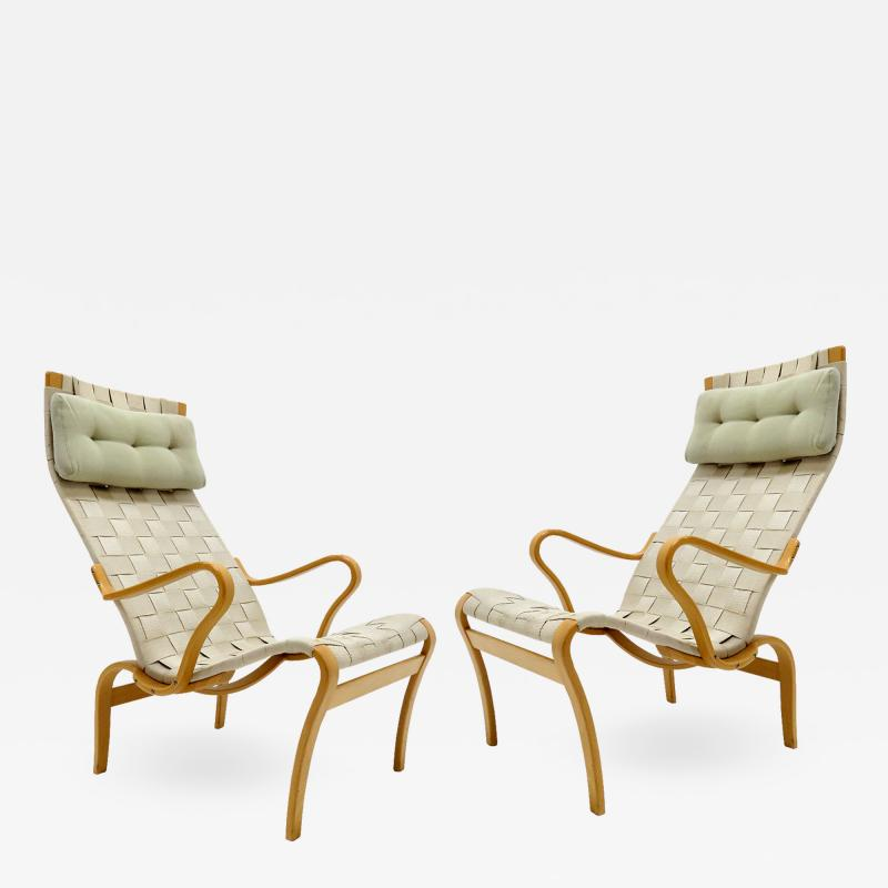 Bruno Mathsson Bruno Mathsson Miranda Lounge Chairs