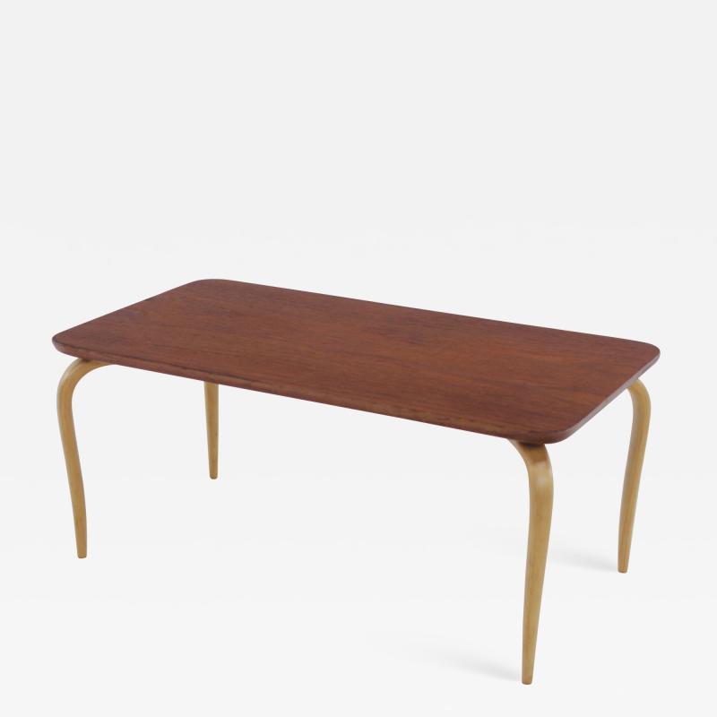 Bruno Mathsson Extremely Rare Diminutive Anika Table Designed by Bruno Mathsson