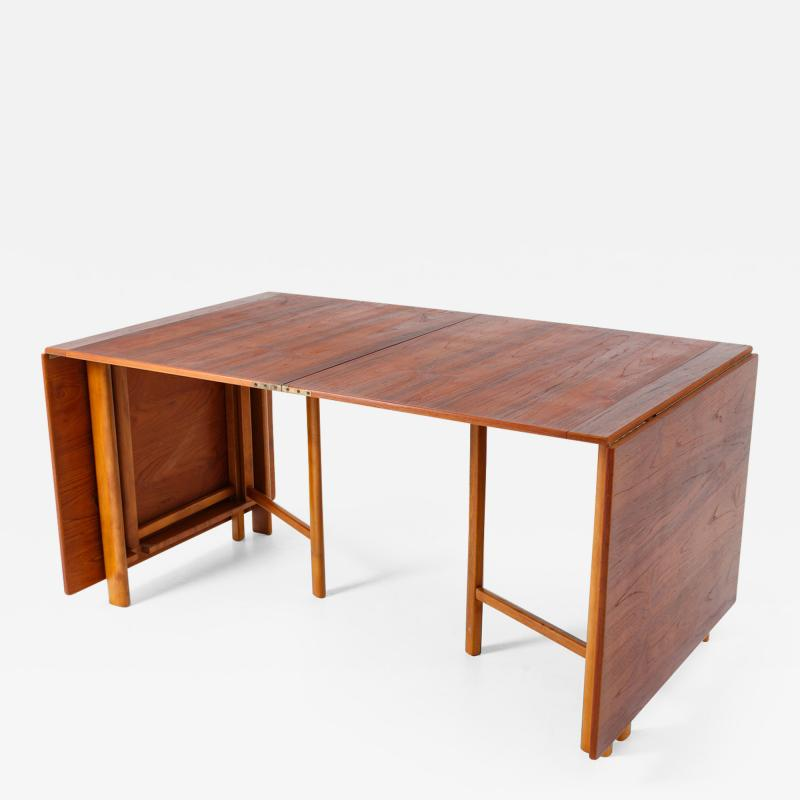 Bruno Mathsson Swedish Table Maria Flap by Bruno Mathsson 1960s