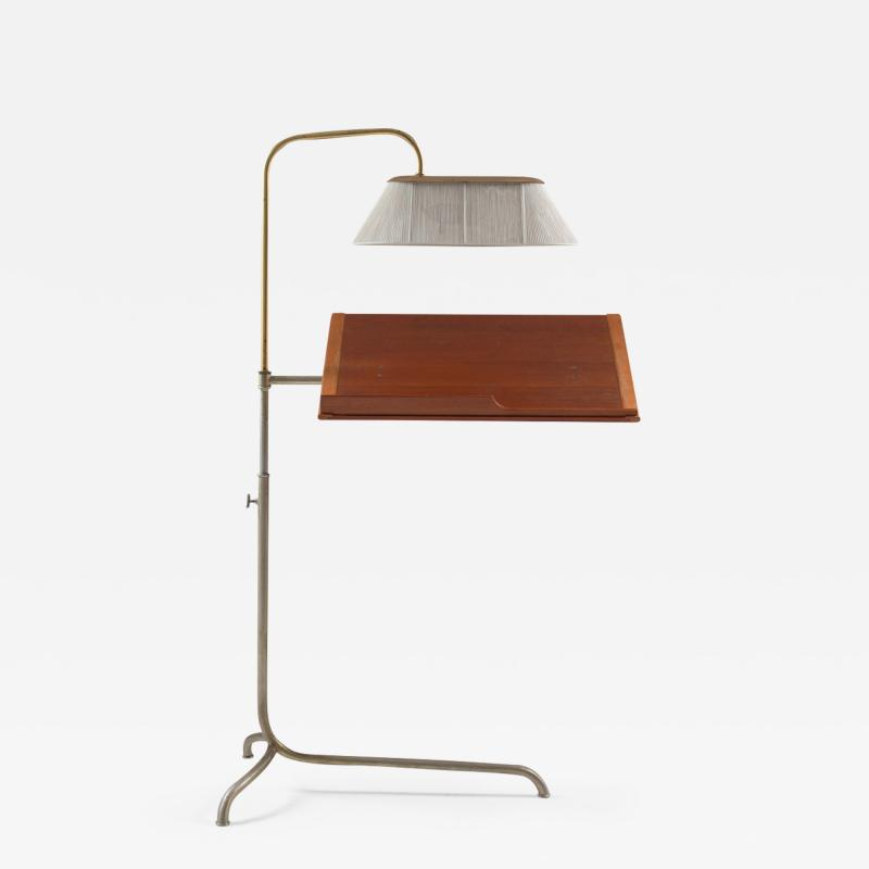 Bruno Mathsson Very Rare Reading Stand with Light by Bruno Mathsson