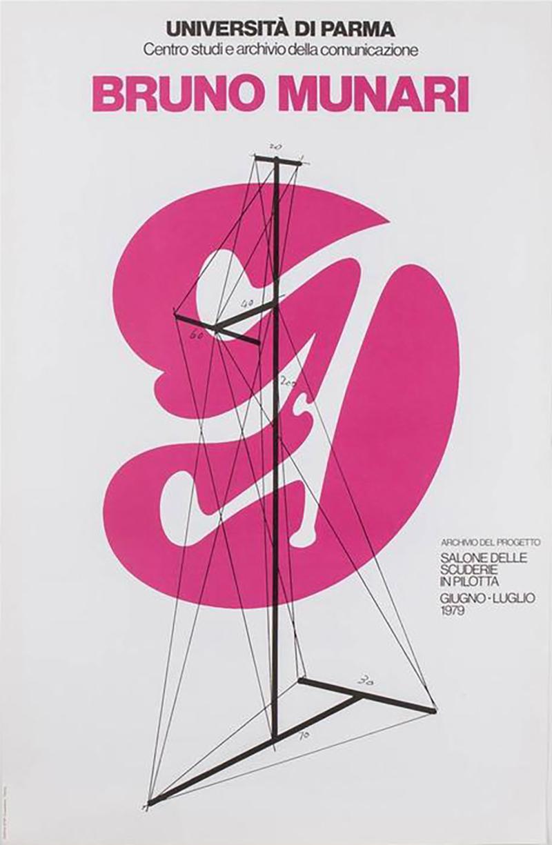 Bruno Munari Bruno Munari Original Poster