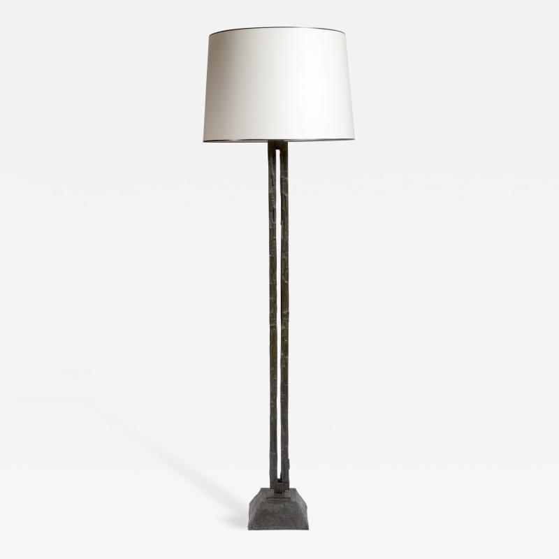 Bruno Romeda Bronze Floor Lamp