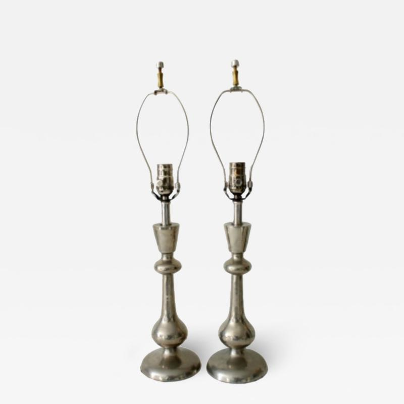Brushed Nickel Lamps