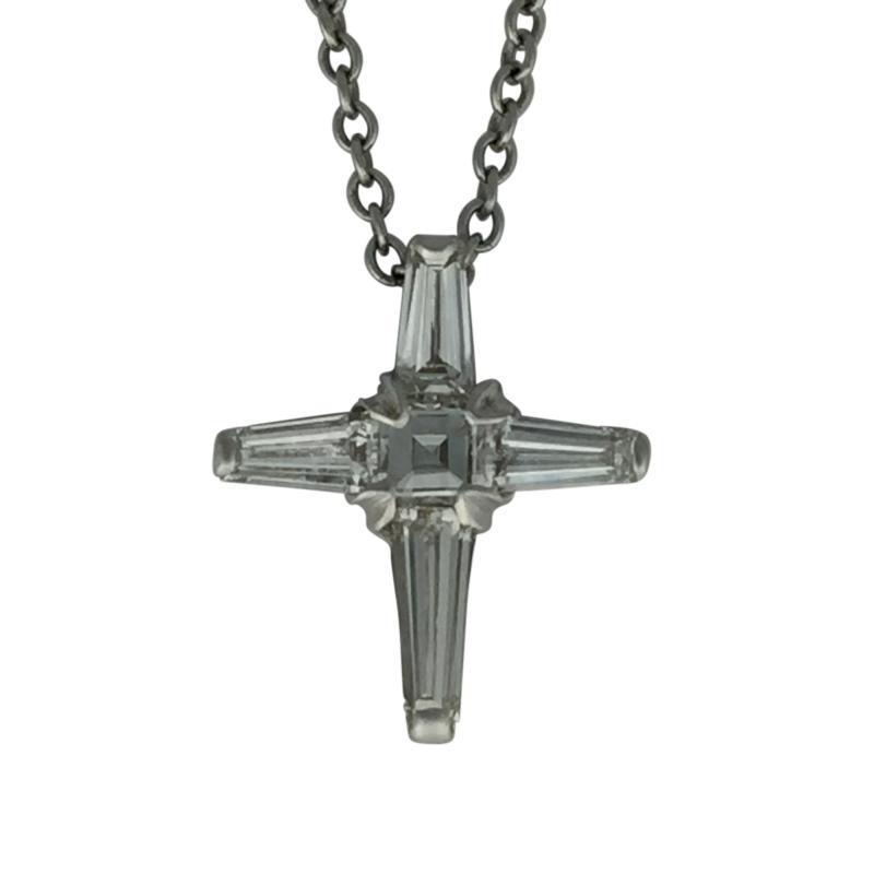Bucherer Bucherer Diamond Cross Pendant