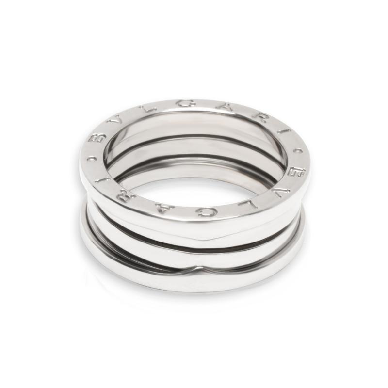 Bulgari B zero1 Ring in 18K White Gold Size 56
