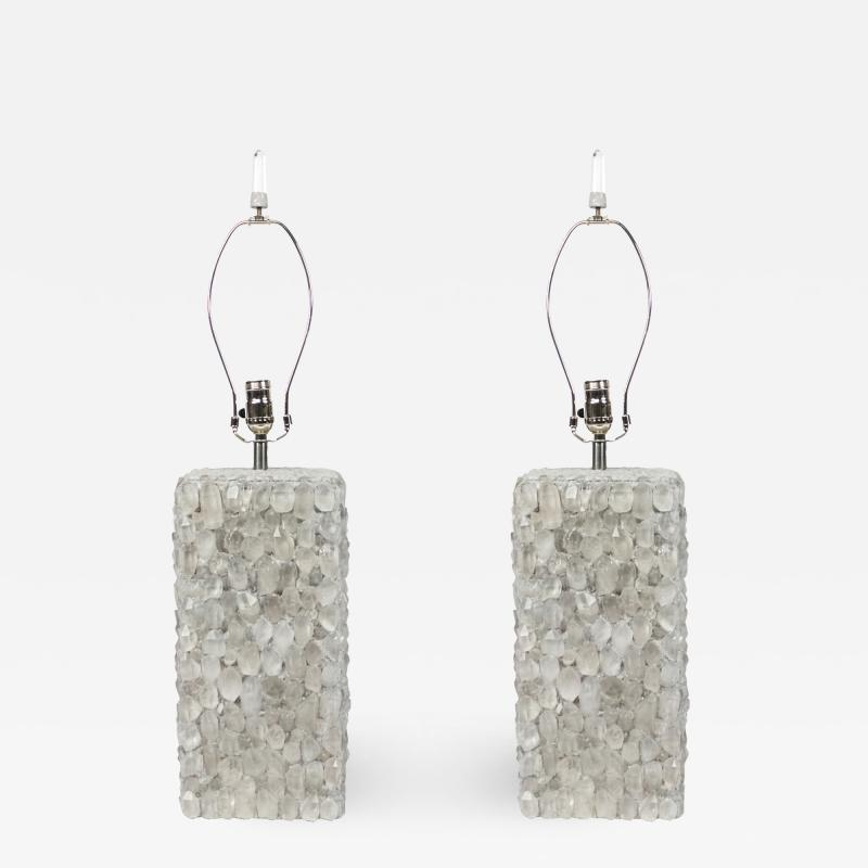 CONTEMPORARY CRYSTAL TABLE LAMPS