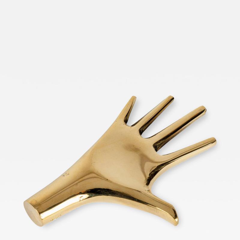 Carl Aub ck Carl Aubo ck Model 4223 Hand Brass Paperweight