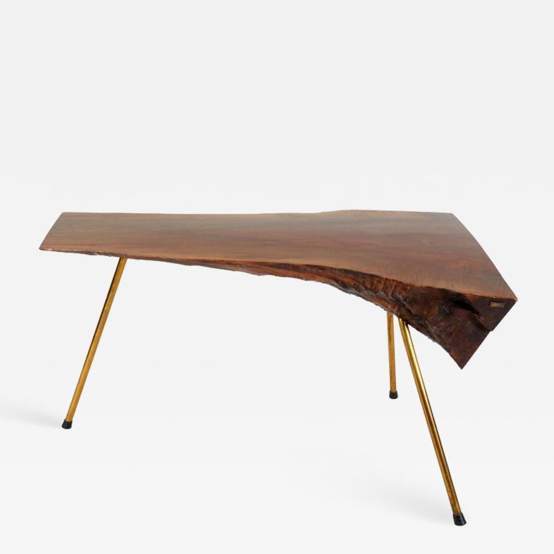 Carl Aub ck Walnut Table by Carl Aub ck