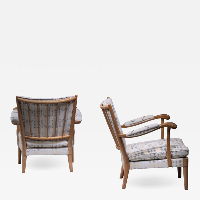 Carl Axel Acking Carl Axel Acking pair of armchairs 1930s
