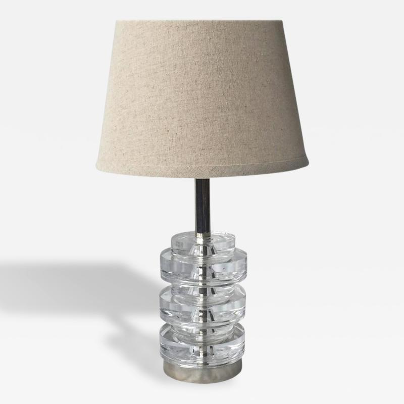 Carl Fagerlund A Table Lamp by Carl Fagerlund for Orrefors