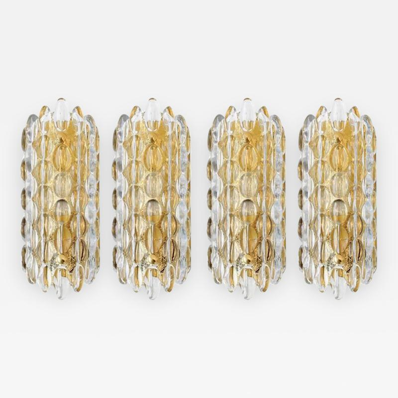 Carl Fagerlund Carl Fagerlund for Orrefors Crystal Sconces