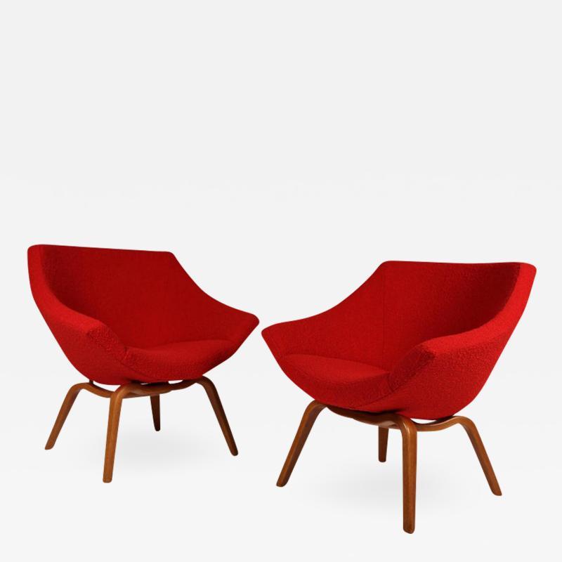 Carl Gustav Hiort af Orn s Carl Gustaf Hiort af Orn s Carl Gustaf Hiort Af Orn s Easy Chairs 1950s