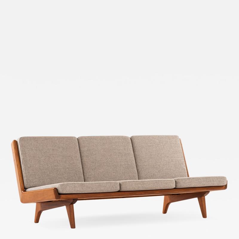 Carl Gustav Hiort af Orn s Carl Gustaf Hiort af Orn s Sofa Model Trienna Produced in Finland