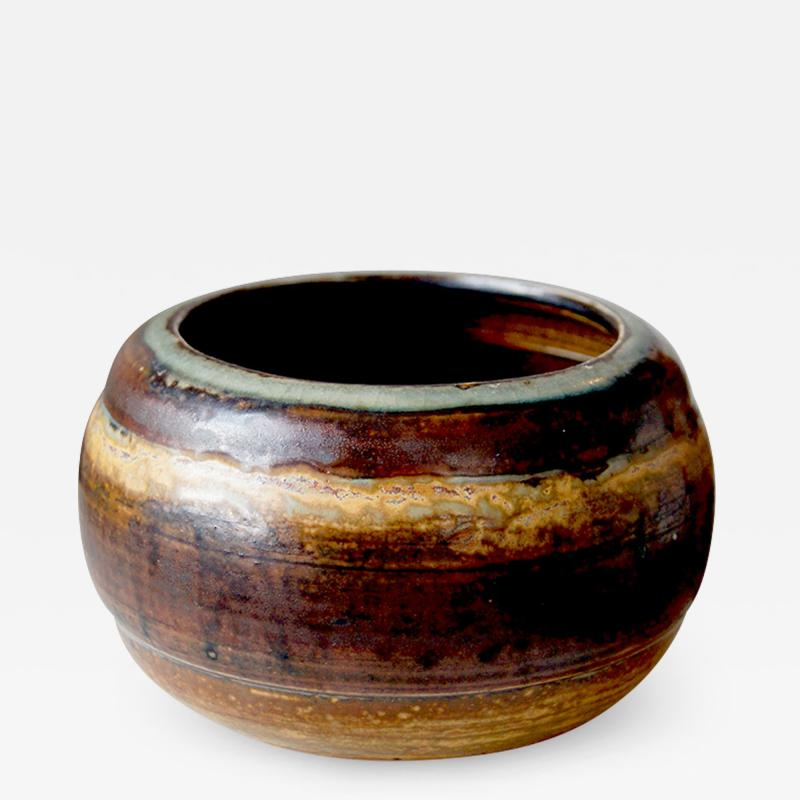 Carl Halier Small lobed bowl by Carl Halier