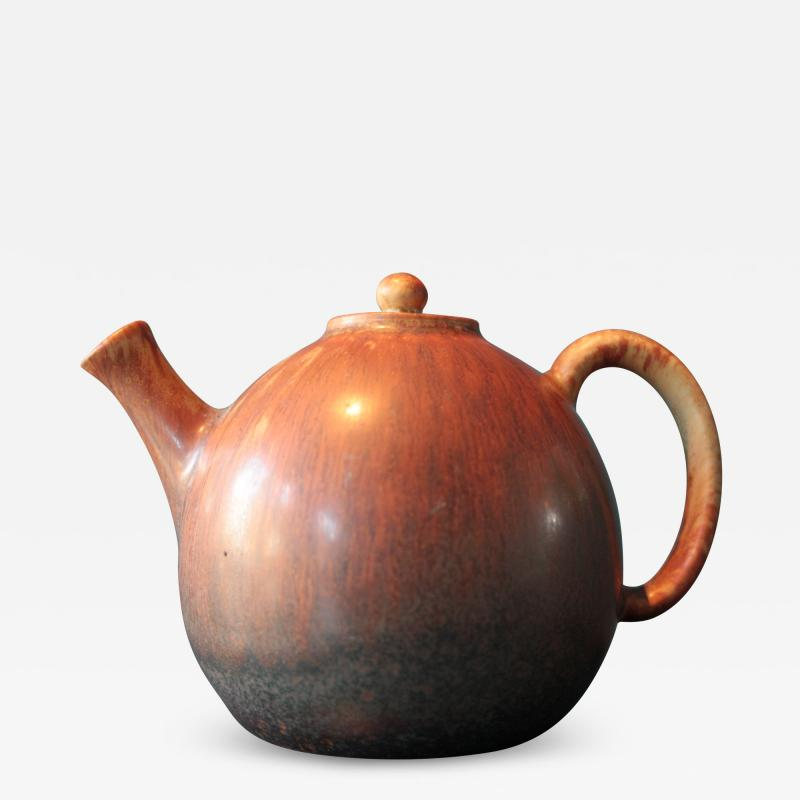Carl Harry St lhane Ceramic Tea Pot by Carl Harry Stalhane for R rstrand