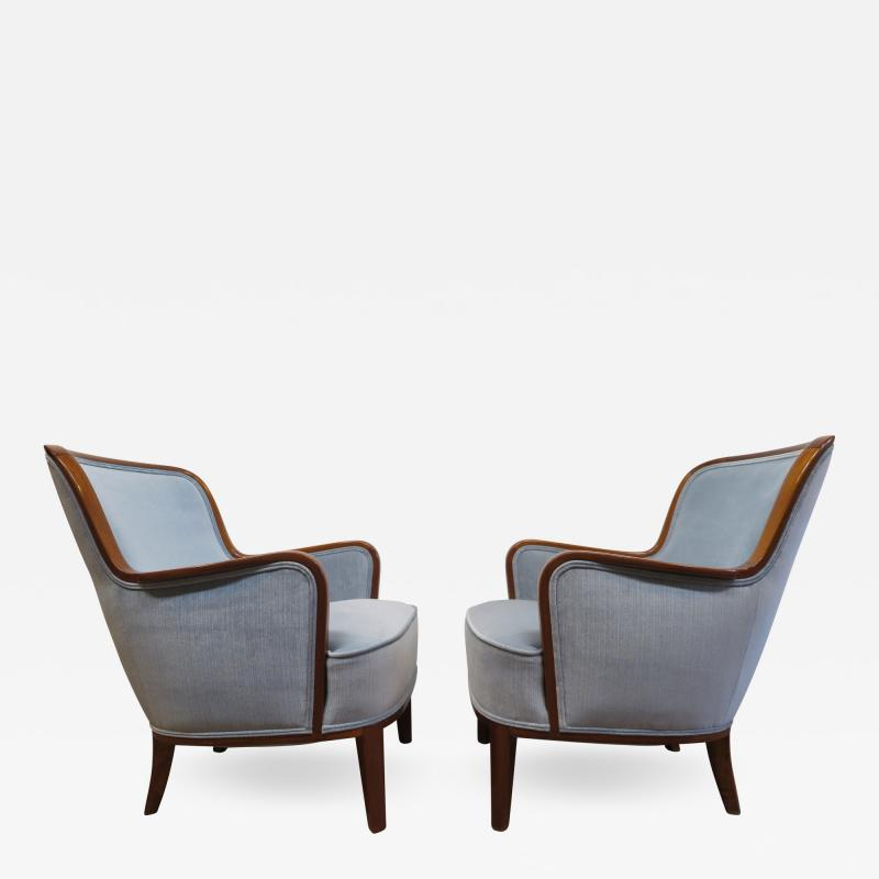 Carl Malmsten Pair of Carl Malmsten Chairs