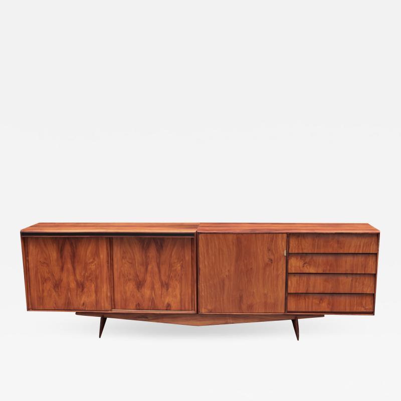 Carlo Hauner and Martin Eisler designed Brazillian Mid century Sideboard