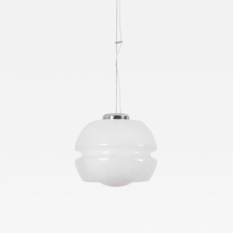 Carlo Nason Ball Glass Pendant Lamp Attributed to Carlo Nason for Mazzega Italy 1960s
