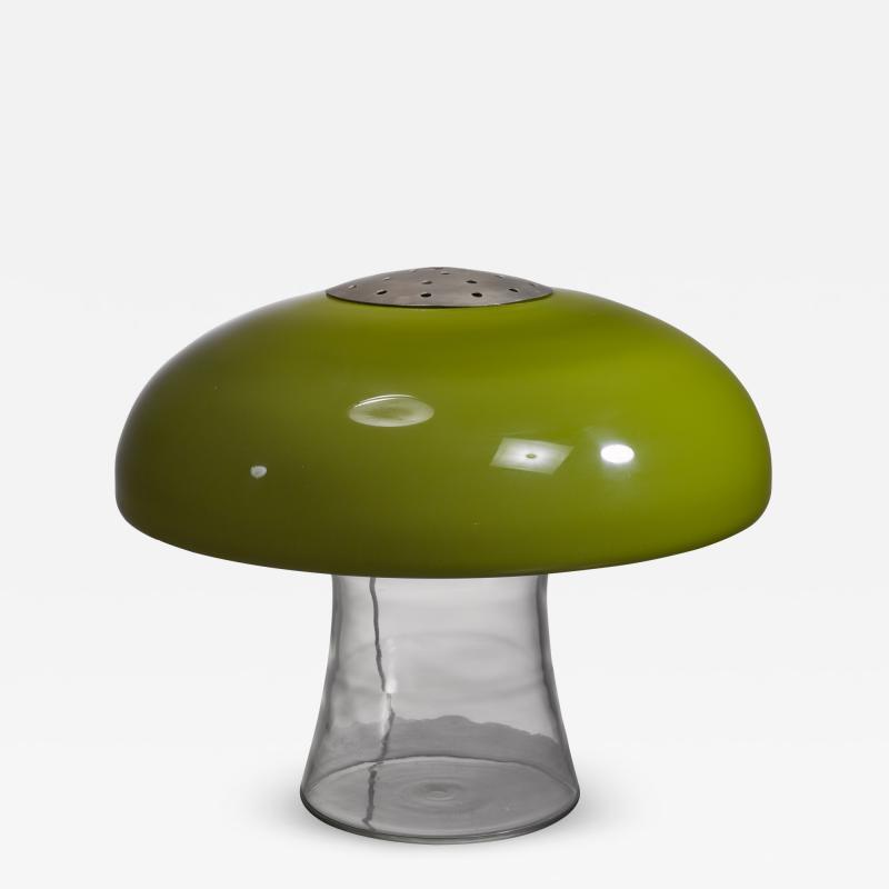 Carlo Nason Carlo Nason Green glass table lamp