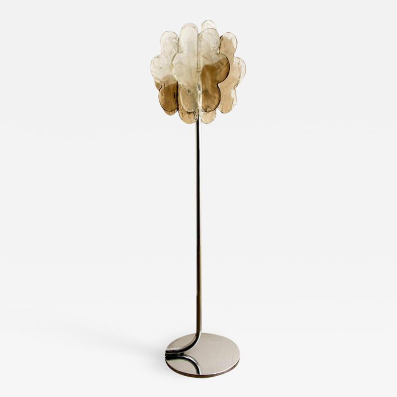 Carlo Nason Cloud Murano Floor Lamp by Carlo Nason 1970s