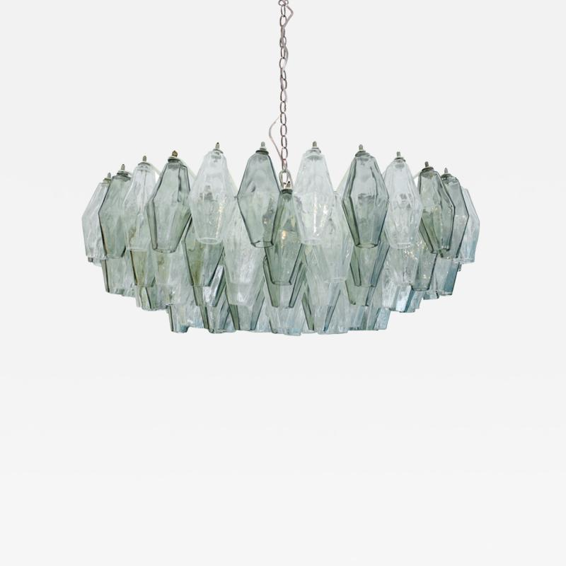 Carlo Scarpa Suspension Lamp Model Poliedri Designed by Carlo Scarpa and Edited by Venini