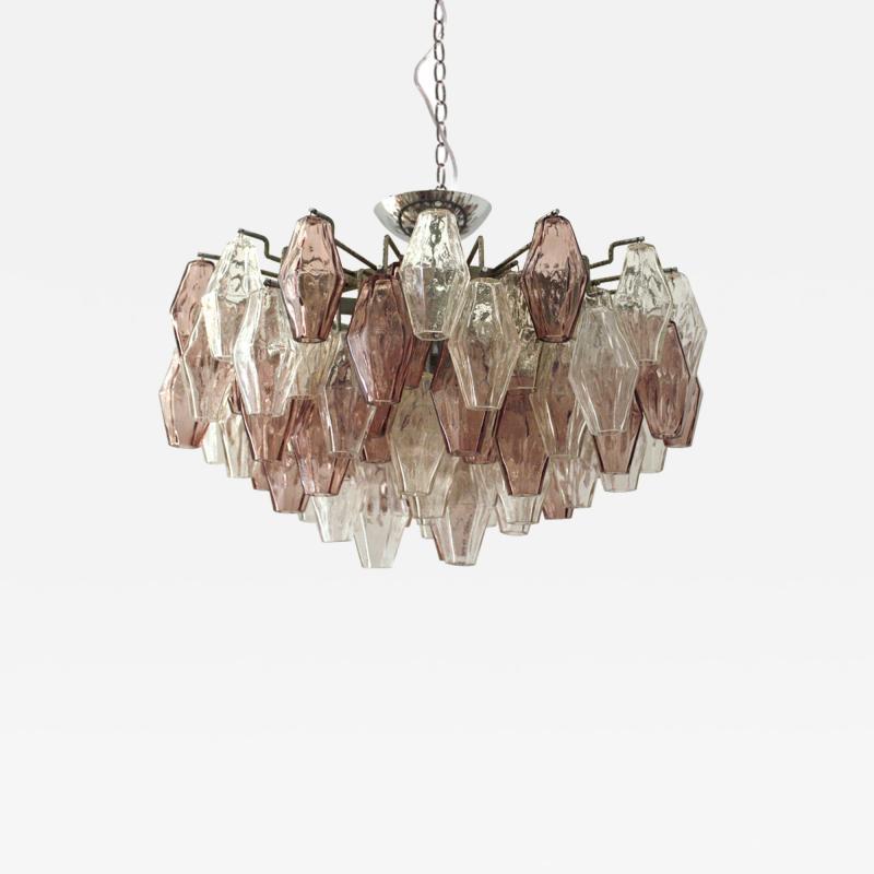 Carlo Scarpa Suspension Lamp Model Poliedri Designed by Carlo Scarpa and Edited by Venini