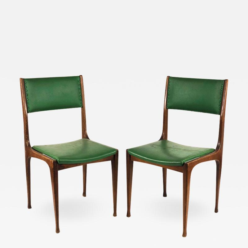 Carlo de Carli Set of 3 chairs by Carlo De Carli for Cassina 1959 Mod 693