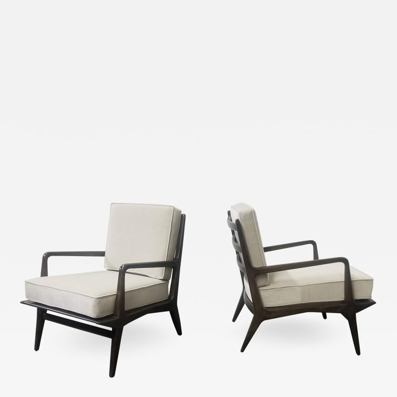 Carlo di Carli Carlo di Carli for M Singer Sons Lounge Chairs
