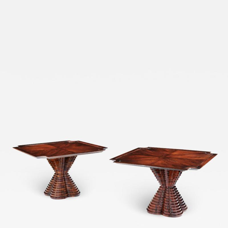 Carlo di Carli Rare pair of tables