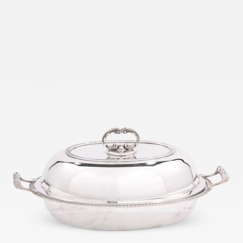 Cartier Sterling Silver Tableware Covered Dish