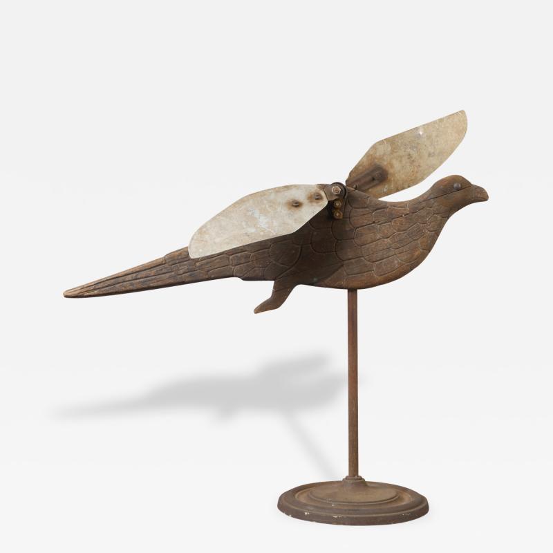 Carved Eagle Whirligig