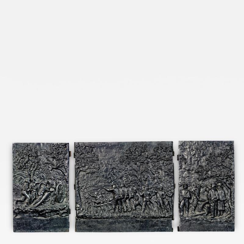 Cast Iron Fireback Panels