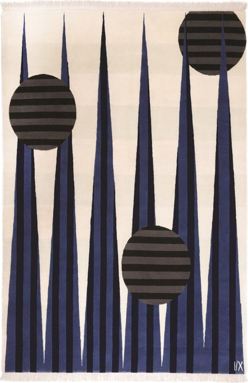 Cecilia Setterdahl Art Money Blue