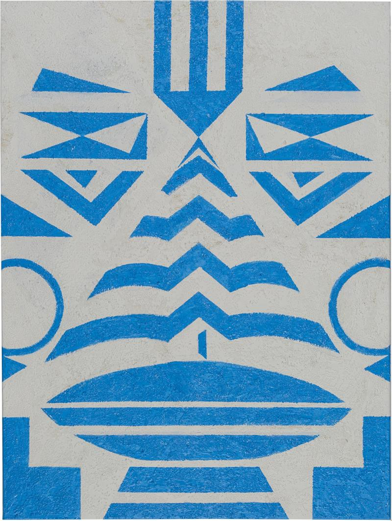Cecilia Setterdahl Tribal Blue