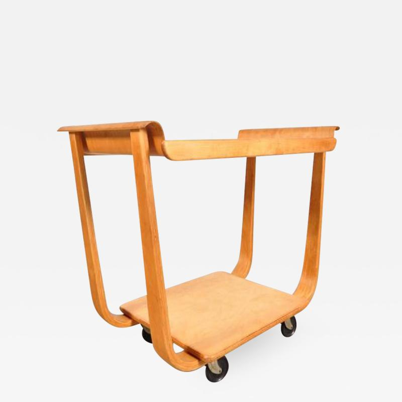 Cees Braakman 1950s PB01 Trolley by Cees Braakman for Pastoe Netherlands